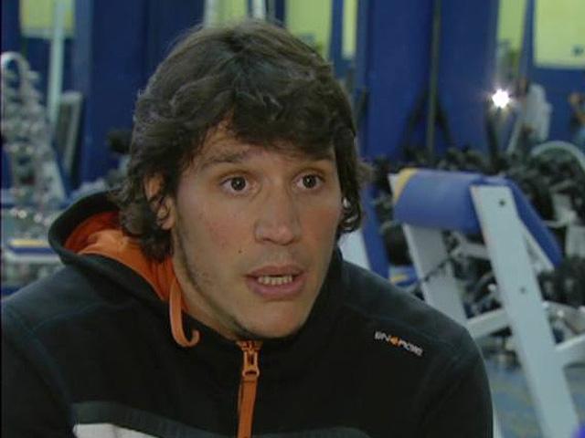 Sergio Peris Mencheta se entrena para encarnar al Capitán Trueno