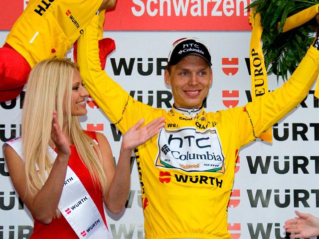 Tony Martin, nuevo líder de la vuelta a Suiza