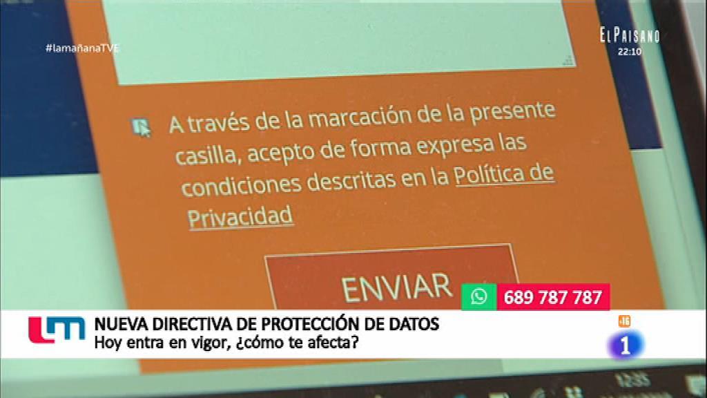 Nuevo reglamento para la protección de datos