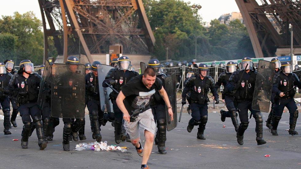 Nuevos disturbios empañan el final de la Eurocopa
