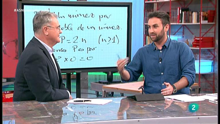 La Aventura del Saber. TVE. Taller de matemáticas. Santi García Cremades. Los números naturales.