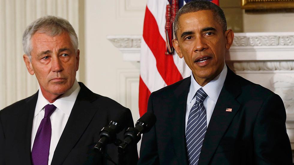 Obama fuerza la renuncia de su secretario de Defensa por sus discrepancias sobre el Estado Islámico