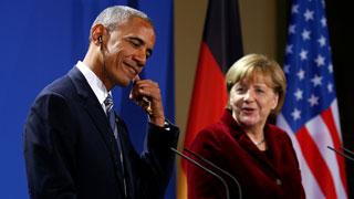 Obama y Merkel analizas las relaciones entre EE.UU. y Europa tras la victoria de Trump
