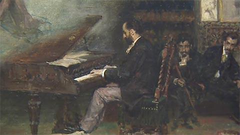 La obra de Mariano Fortuny se puede admirar en una exposición en el Museo del Prado