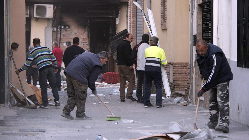 Ocho heridos en una explosión en la localidad granadina de Dúrcal