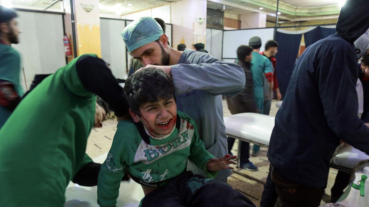 La ofensiva contra Guta Oriental deja más de 500 muertos en una semana