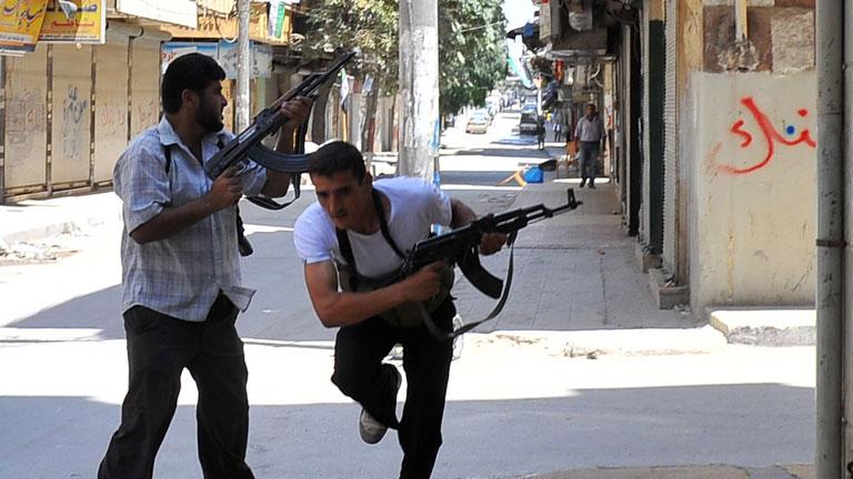 Ofensiva del Ejército sirio en Alepo