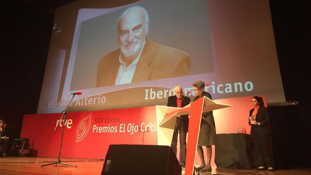 Premio Iberoamericano, Héctor Alterio