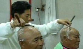 On Off: Barbero a dos manos
