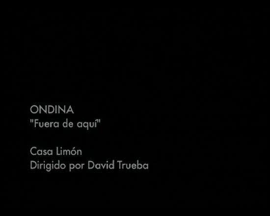 Disco del año 2009 - Ondina - Fuera de aquí