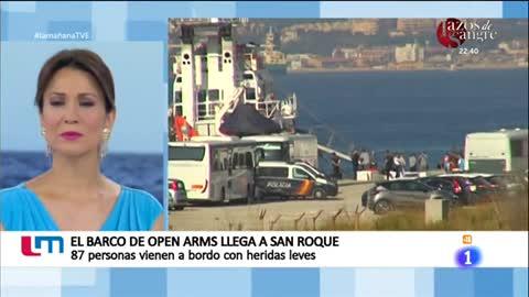 La mañana - El 'Open Arms' llega a San Roque