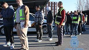 Detenidos 33 jóvenes en dos operaciones contra bandas latinas en Madrid