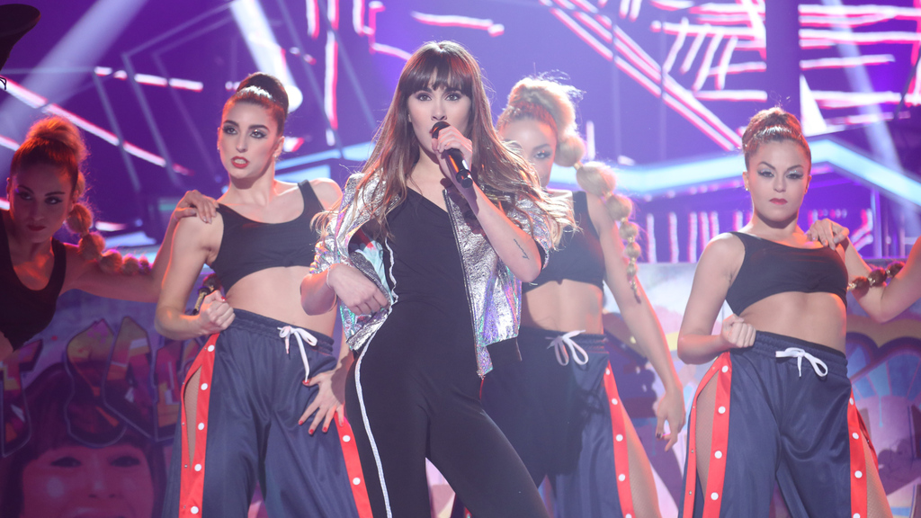 Aitana canta 'Instruction'