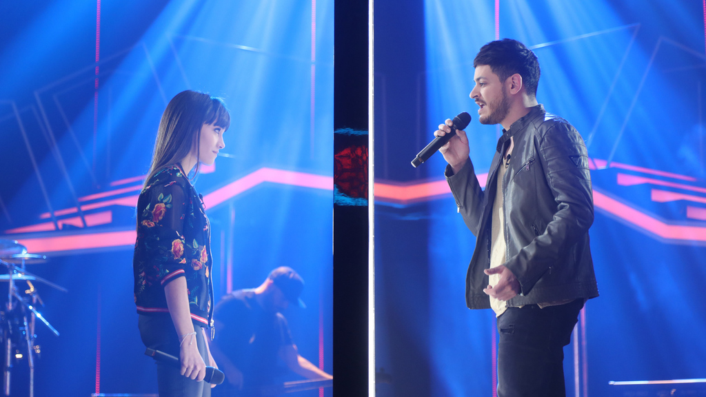 Aitana y Cepeda cantan 'No puedo vivir sin ti'