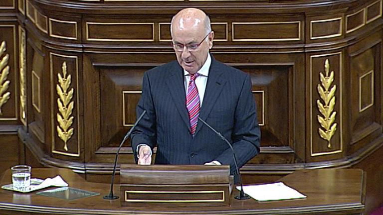 CIU, PNV y IU debaten ante el gobierno las políticas de austeridad