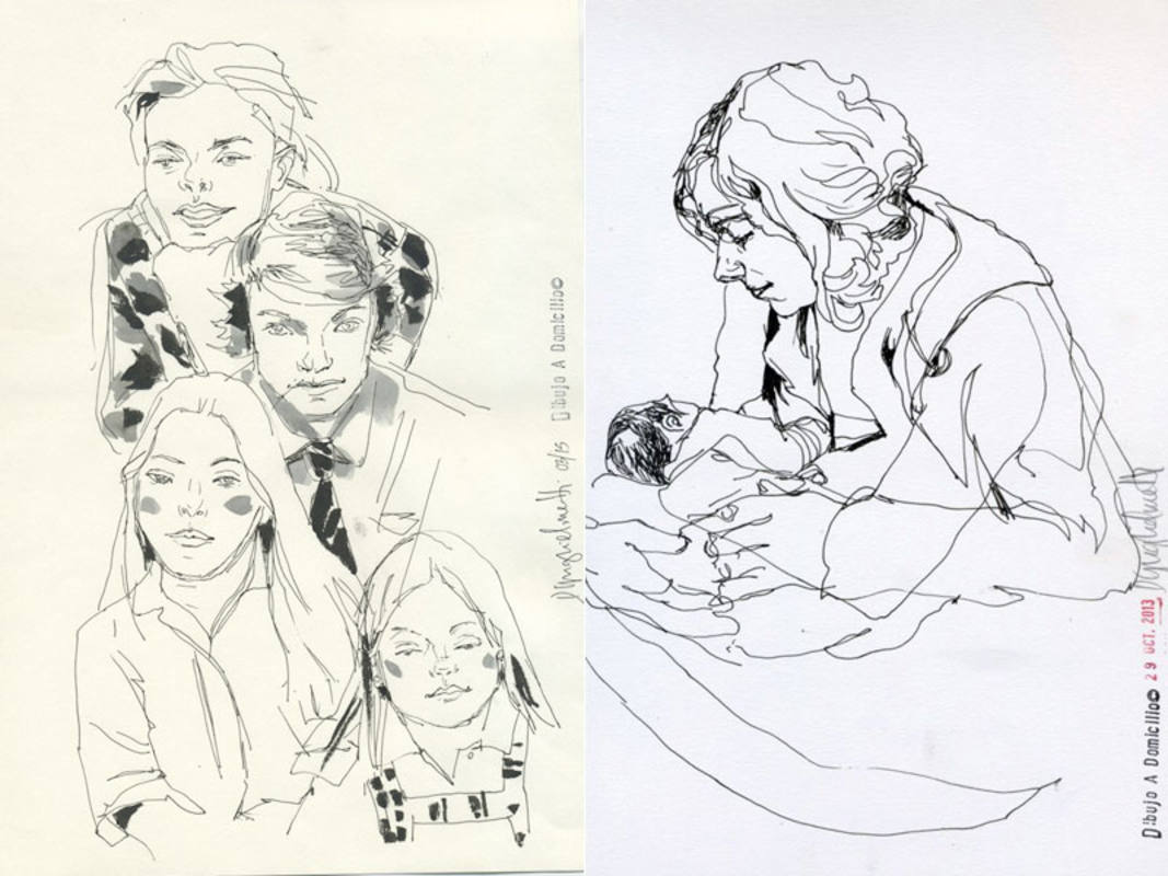 Originales de Dibujo a domicilio