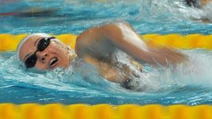 Oro de Melani Costa en 400 metros libre