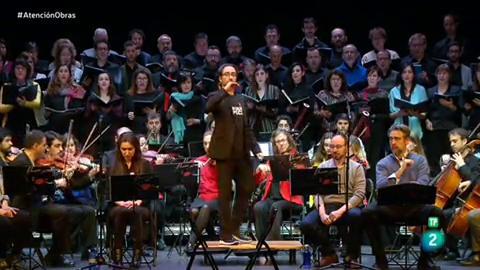 Atención Obras - La orquesta sinfónica Camerata Musicalis