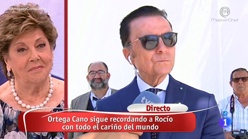 La mañana - Ortega Cano recuerda a Rocío Jurado desde Chipiona