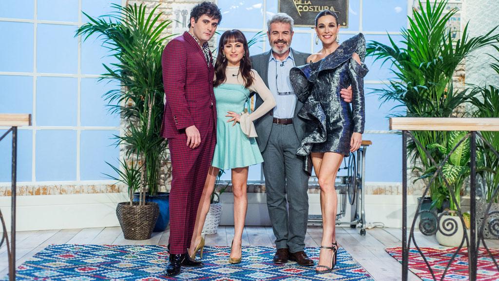 Maestros de la costura - Óscar Higares, Mónica Cruz y José Corbacho visitarán la final de 'Maestros de la costura'