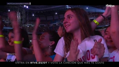 OT Bernabéu - OT 2017 canta 'Camina'