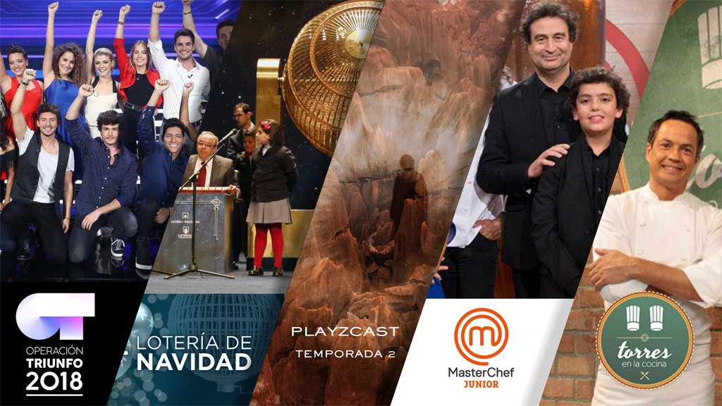 Telediario - 'OT', 'MasterChef', Playz..., entre los contenidos más consumidos de RTVE.es
