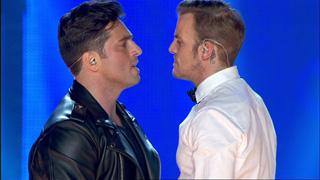 OT. El reencuentro - David Bustamante y Alex Casademunt cantan 'Por el amor de esa mujer' en el concierto de OT