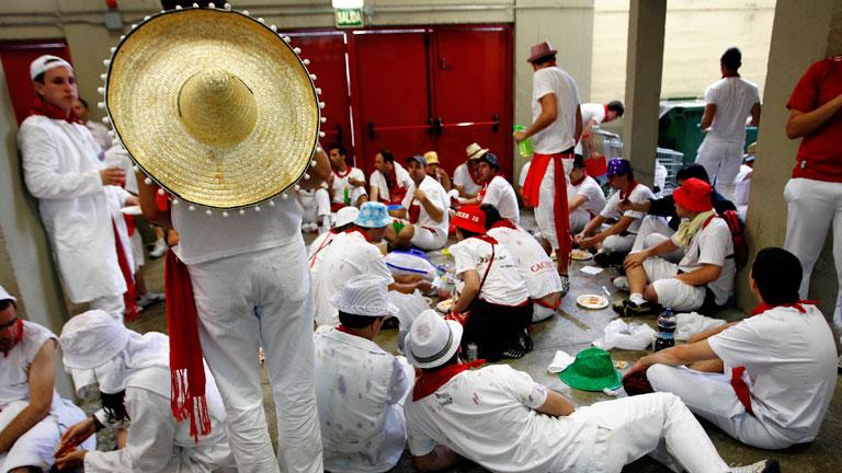 La otra cara del último encierro de los Sanfermines 2012, de Torrehandilla