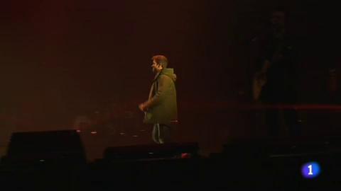 Pablo Alborán se subió al escenario con todas las entradas vendidas
