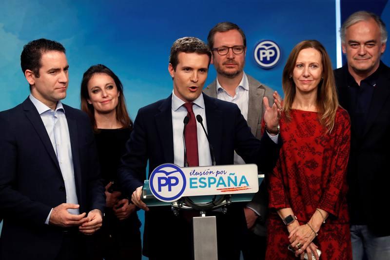Pablo Casado valora los resultados de las elecciones andaluzas
