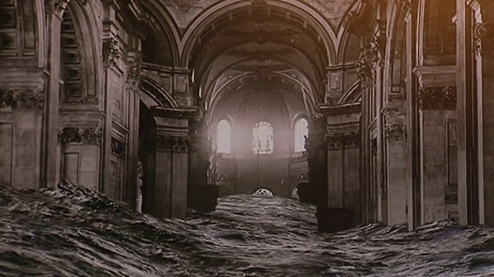 Pablo Genovés lleva sus fotomontajes a la Catedral de San Pablo en Londres