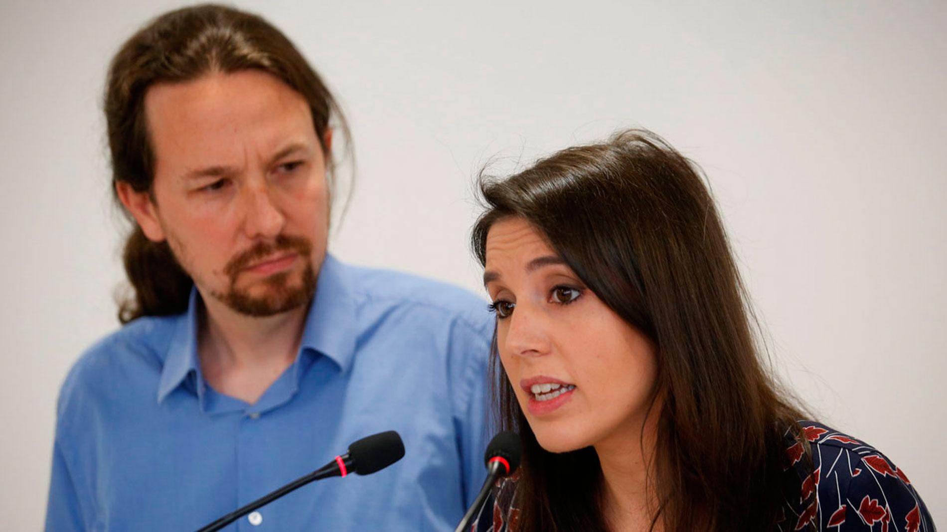 Pablo Iglesias e Irene Montero obtienen el aval para seguir al frente de Podemos