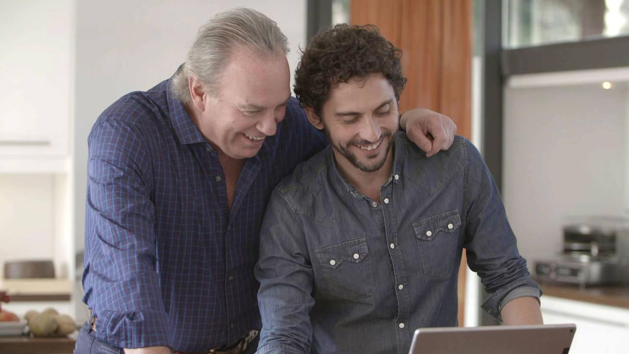 Paco León y Bertín Osborne