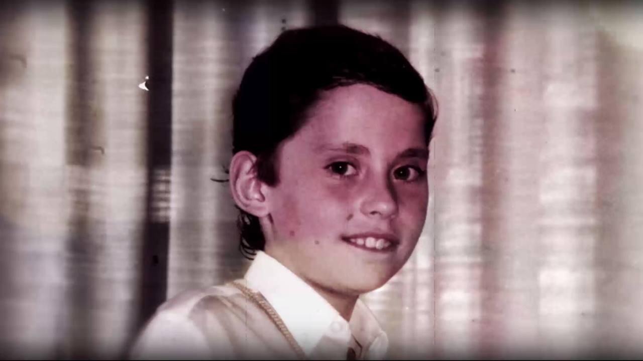 Paco León, de niño