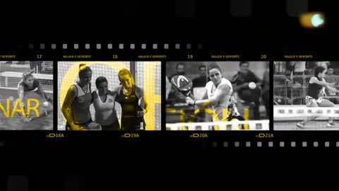 Mujer y deporte - Pádel: Paula Josemaría