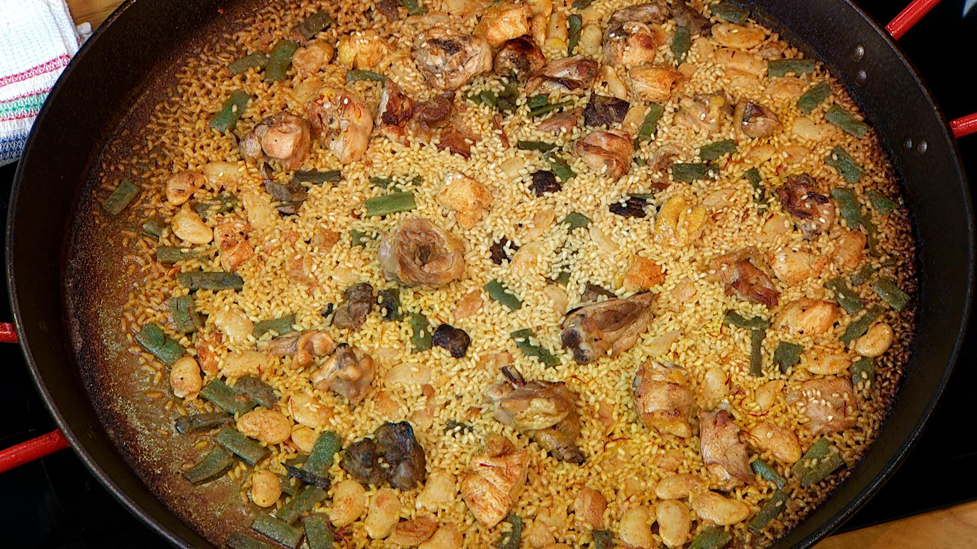 Torres en la cocina - Paella valenciana