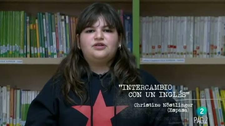 """Página 2 - Mini club de lectura: """"Intercambio con un Inglés"""""""