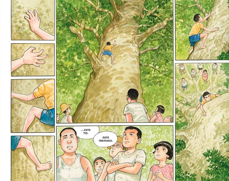 Página de 'El bosque milenario'