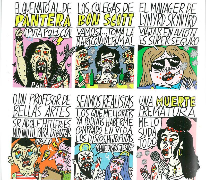 Página de 'Historia inventada del punk'