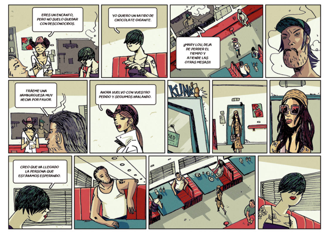 Página de 'Sicarios: Olmito'