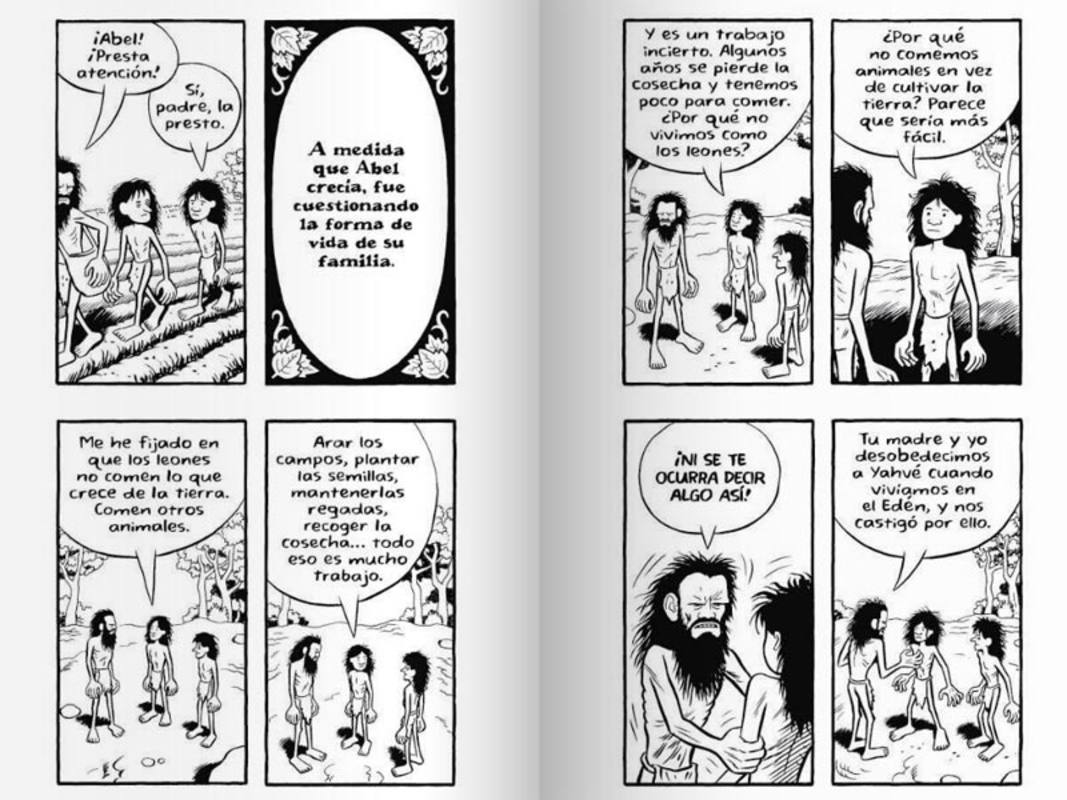 Páginas sobre Caín y Abel