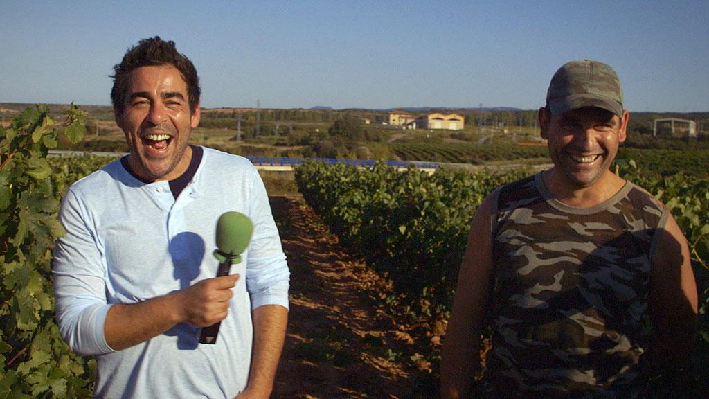 El Paisano - 'El Paisano' visita Sotés en época de vendimia