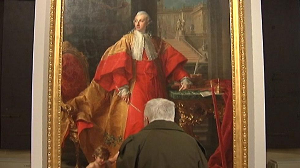 El Palacio Barberini, en Roma, alberga dos exposiciones al mismo tiempo