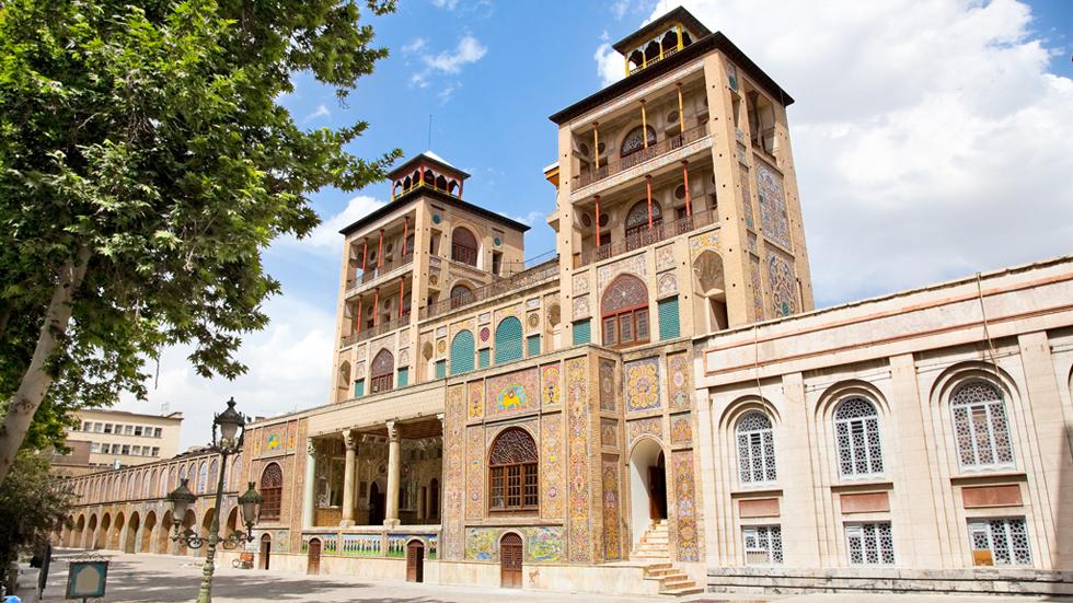 El Palacio de Golestán, uno de los edificios más impresionantes de Teherán