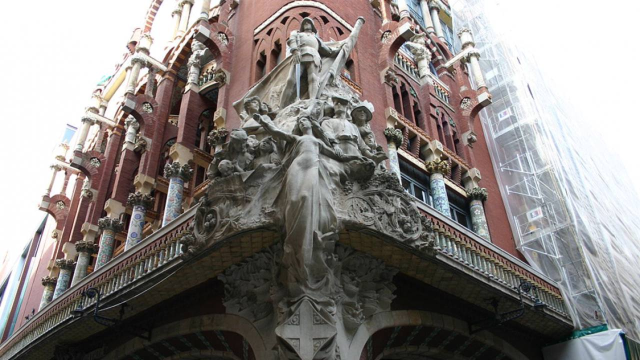 El Palau de la Música Catalana, seu de l'Orfeó Català