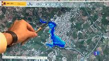 A Palma 1.300 persones viuen en zones amb alt risc d'inundació