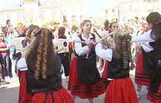España Directo - Paloteo para la virgen