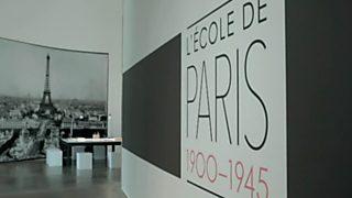 La sala: Guggenheim - Panoramas de la ciudad. La escuela de París 1900-1945