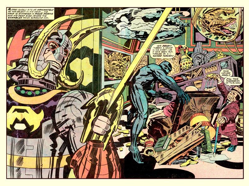 'Pantera Negra', de Jack Kirby