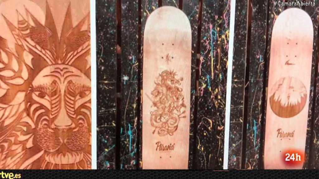 Cámara abierta - Paraná Skateboards, Mónica Regueiro en Tú Ruedas, Poesía en la red y los Sidecars en Música conectada